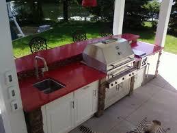 kitchen island granite top sun: mesmerizing outdoor living space with modular kitchen design