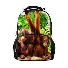 <b>FORUDESIGNS</b> Casual 3D Animal Children <b>School</b> Backpacks ...