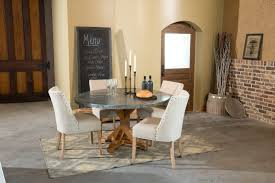 images zinc table top: palettes by winesburg round zinc table top zi