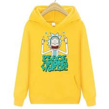 New 2019 <b>Rick and</b> Morty <b>Hoodie Sweatshirt</b>