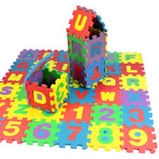 <b>36Pcs</b> Baby Child Number Alphabet Puzzle Foam Maths ...