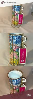 set cabinet full mini summer: lilly pulitzer for target tea cup set lilly pulitzer for target tea cup set new with tags never used have been stored in china cabinet