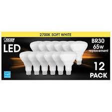Feit <b>Electric</b> LED BR30 Flood Soft White, <b>12</b>-<b>pack</b>