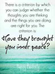 Inner Peace Quotes on Pinterest | Taoism Quotes, World Peace ... via Relatably.com