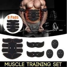 Muscle Toner <b>Abdominal</b> Toning Belt Workouts Fitness <b>Portable AB</b> ...