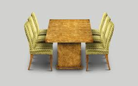w255 dining table 7ft x 3ft 3in burr poplar w213cm84in d99cm39in h76cm30in art deco replica furniture
