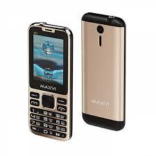 Мобильный <b>телефон Maxvi X11</b> Metallic Gold - Купить в ДНР ...