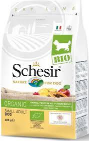 <b>Schesir Bio сухой корм</b> для собак мелких пород, домашняя птица ...