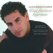 <b>Juan Diego</b> Flórez - Una Furtiva Lagrima: Donizetti &amp; Bellini Arias - 0002894734402_600