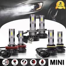 <b>Pair H1</b> H7 H11 H8 9005 9006 <b>110W</b> LED Headlight Bulbs Kit High ...