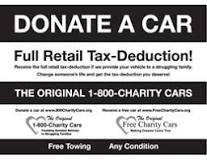 Other Promotional Ideas for Free Charity Cars | Charity Cars