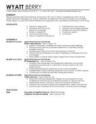 best service technician resume example livecareer choose