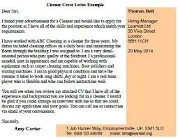 cleaner cover letter example forumslearnistorg writing a speculative cover letter