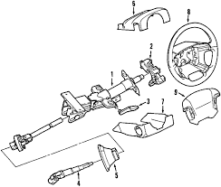 parts com® volvo xc90 steering column assembly oem parts 2008 volvo xc90 v8 v8 4 4 liter gas steering column assembly