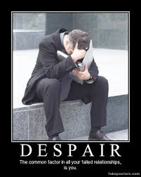 Despair - Meme Guy via Relatably.com