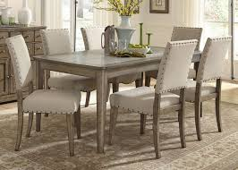 chair dining room tables rustic chairs: liberty furniture weatherford  piece dining table and chairs set item number
