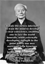 Gichin Funakoshi, Shotokan Karate, Karate