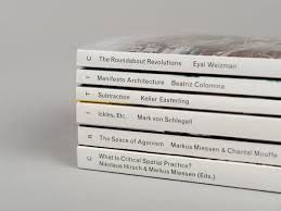 critical spatial practice series of each essay the dust jacket adds another layer of meaning which allows visual artists to engage spatial practice through image