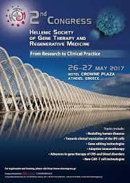 nd congress of the hellenic society of gene therapy and 2nd congress of the hellenic society of gene therapy and regenerative medicine