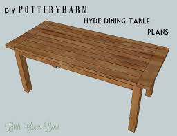 pottery barn style dining table: diy dining table pottery barn knockoff