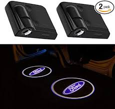 <b>2Pcs</b> for Ford Car Door <b>Logo</b> Projector Lights, Led <b>Welcome</b> Laser ...