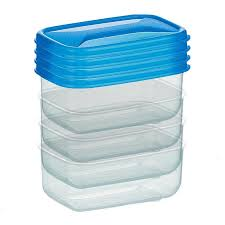<b>набор мини контейнеров COSMOPLAST</b> 4 шт пластик - ElfaBrest