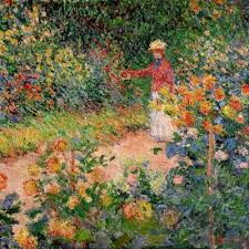 Garden at <b>Giverny</b>, 1895 Giclee Print by Claude Monet | Art.com
