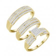 Buy Discount <b>3</b>-<b>Piece Bridal Bridal</b> Ring Sets Online with No Credit ...