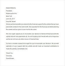 Sample Financial Aid Appeal Letter - 7+ Free Documents Download in ... Financial Aid Appeal Letter Sample