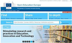 Bildresultat för open education europa