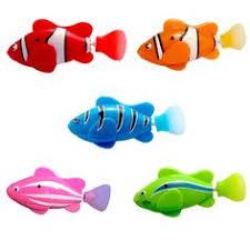 New! <b>Mini Bath Toy Bionic</b> Fish Electric Swimming Magical Le Bao ...