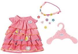 <b>Одежда для кукол Zapf</b> Creation Платье и ободок-украшение ...