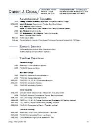resume for professor jobs cipanewsletter assistant professor position resume sample daniel j cover letter