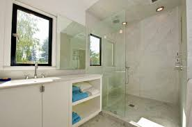 sliding bathroom mirror: make the best of your window above your bathroom sink
