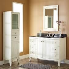 vintage bathroom vanity white finish
