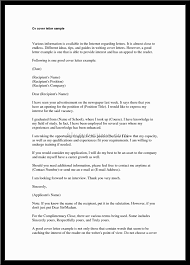 sample of a good cover letter writing a good resume cover letter    examples of a good resume cover letter