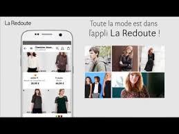 <b>L</b>'application mobile <b>La Redoute</b> est disponible sur Google Play Store