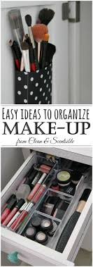 plastic makeup organizer put bathroom: easy ideas for organizing make up and when to get rid of it
