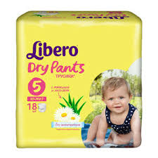 <b>Libero Dry</b> Pants <b>подгузники</b>-<b>трусики</b> 10-14 кг 18 шт (49591 ...