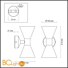 Купить настенный <b>светильник Odeon Light</b> Axen <b>4611</b>/<b>10WL</b> с ...