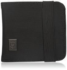 кошелек на шею victorinox deluxe с rfid цвет черный 31171901