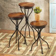 decor rustic tables furniture agave ranch