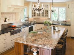 Decor For Kitchen Counters Choosing Kitchen Countertops Hgtv