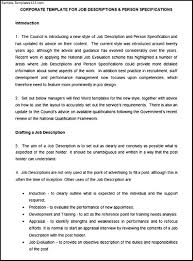 description essay job description essay