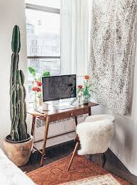 mid century desk at the workspace in the bedroom of tessa barton shop the style boxed ice office exterior