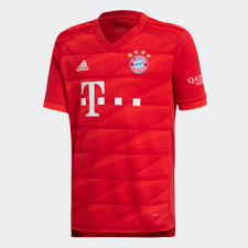 <b>adidas</b> Домашняя <b>игровая футболка</b> Бавария Мюнхен - красный ...