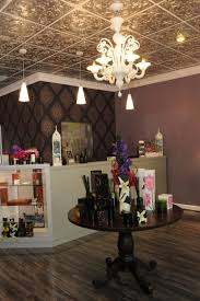 sagging tin ceiling tiles bathroom: marylands jewelry store owned by amy hugo has a sivler ceiling and beautiful decor