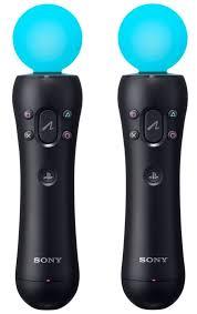 Набор из двух <b>контроллеров движений</b> PS Move для PS4 ...