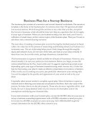 how to write business plan proposal
