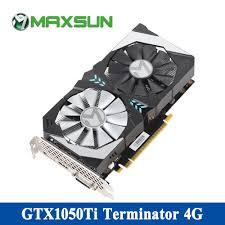 <b>MAXSUN gtx 1050 ti</b> 4G Video Card 7000MHz 128bit GDDR5 16nm ...